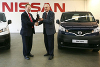 NV200 receives International Van of the Year 2010 award