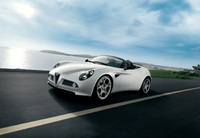 Alfa 8C Spider Most Beautiful Car of the Year