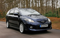 Upgraded Mazda5 on sale 1 January 2010