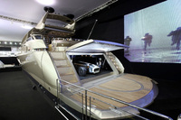 Caterham and Sunseeker unite at London Boat Show