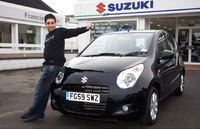 Lucky Suzuki winner starts New Year with new Alto