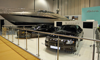 Maserati at the London Boat Show 2010