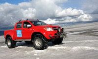Conquer the Arctic with Toyota Hilux