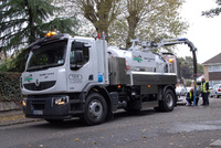 Latest technology jetting unit uses Renault Premium chassis