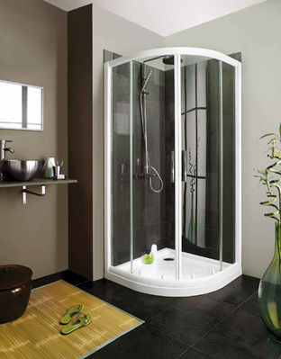 Kinedo Shower Products Restyled For 2010 Easier