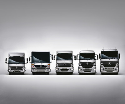 Mercedez Benz on Mercedes Benz Trucks Gains Market Share   Easier