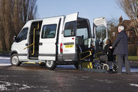 A wheelchair accessible minibus – with a difference!