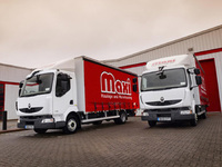 Maxi Haulage takes delivery of five new Renault Midlums
