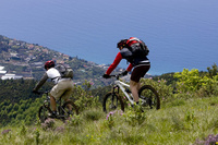 Cycling and hiking in Ligure