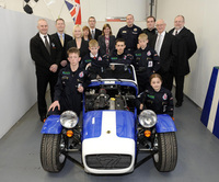 Caterham keeping Tameside youths on the right track