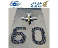Gulf Air celebrates 60th anniversary