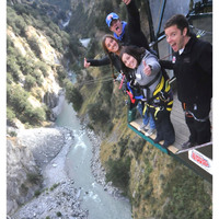 Tandem Cliff Jump launches in Queenstown