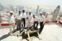 Emirates Park Towers hits new heights