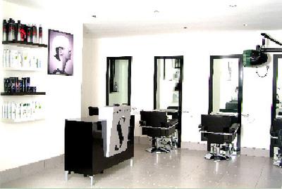 Elegant The Salon Interior.