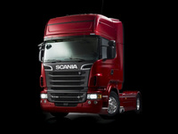 New Scania V8 truck range
