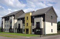 Contemporary new apartments in Braehead