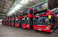 HCT takes delivery of new Scania OmniCity double deckers