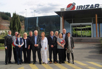 Plan-it Travel and Carvers Coaches enjoy promotional visit to Irizar