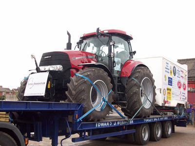 Charity tractor drive - John O'Groats to Lands End | Easier