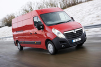 Vauxhall Movano Van Fleet World's 'Best New Van'