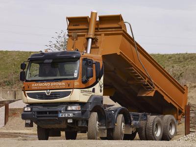 Renault Kerax. Renault Kerax make quality