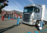 Scania's Young European Truck Driver road safety spectacular