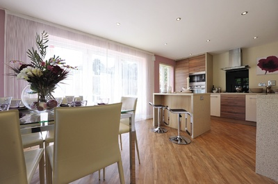 show home dining room | Part-exchange to a dream home in South Wales | Easier