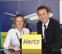 Ryanair and Hertz launch 'Effortless' car rental