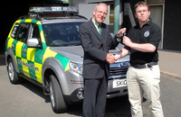 Subaru supplies Forester to Yorkhill Children's Foundation