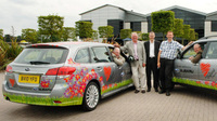Subaru backs Heart of England in Bloom