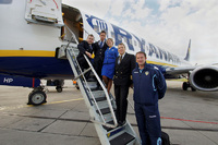 Leeds United fly Ryanair to Poland