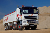 DAF eight-wheeler delivers 20 tonnes plus