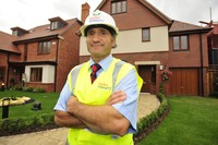Taylor Wimpey Senior Site Manager Phil Cataffo at Sandringham Gate, Ruislip.