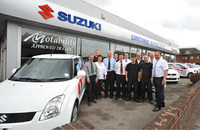 Luscombe Suzuki joins the dealer network