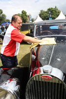 Autoglym battles the showers to keep Salon Prive shining
