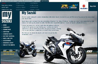 My Suzuki website