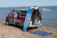Life's a beach with Wicked Campers