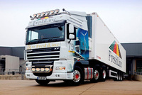 Special livery marks 75th DAF XF105 for Freshlinc