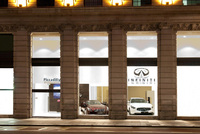 Infiniti arrives in the heart of London