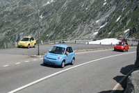 Carbon-free driving in the Alps