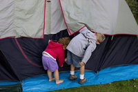 Go camping with the kids this summer