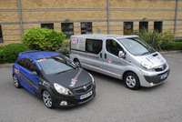 Vauxhall Vivaro Vault heads out on Help for Heroes Tour