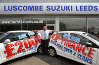 Night at the races at Luscombe Suzuki Leeds