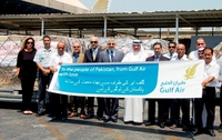 Gulf Air sends relief cargo to Pakistan flood victims