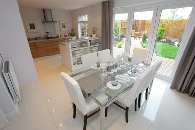 Redrow has designs on buyers in swansea easier for Show home interior design ideas