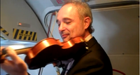Collgium Ducale performing at 30,000ft