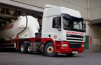DAF CF85 tractor units for Hutchison's Flour
