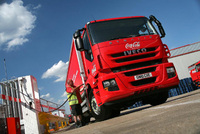 Iveco assembles wide-ranging green fleet for low carbon show