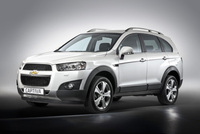 New Captiva SUV with sporty design and all-new engine line-up