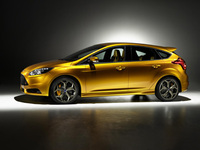 Ford Focus ST on display at Paris Motor Show